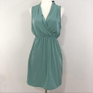NWT Urban Outfitters Sparkle & Fade Dress Teal S